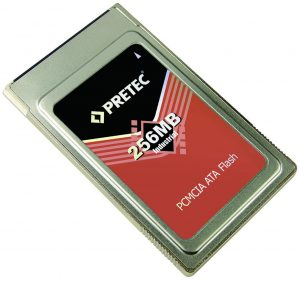نمونه کارت حافظه PCMCIA ATA FLASH